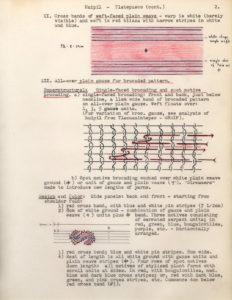 Notas de campo de Irmgard Weitlaner Johnson sobre el huipil de Tlatepusco (continuación)