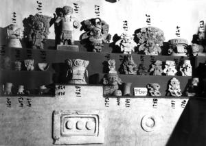 Piezas arqueolóficas del Museo Frissell
